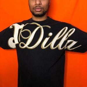 Vtg Stussy J Dilla collab shirt
